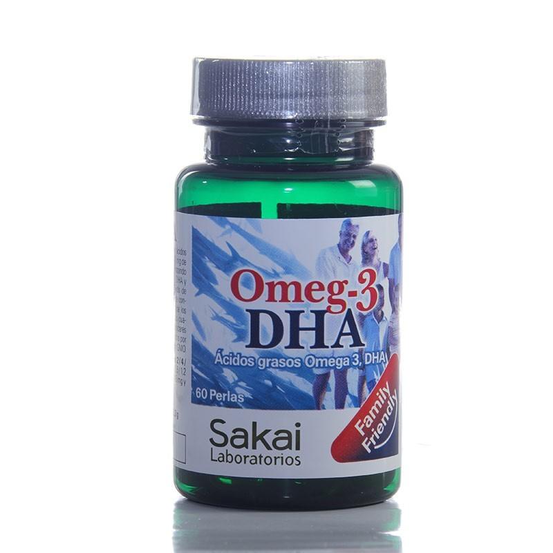 Omega-3 DHA • Sakai • 60 perlas