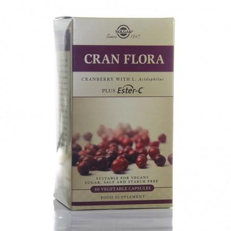 Cran flora • Solgar • 60 cápsulas