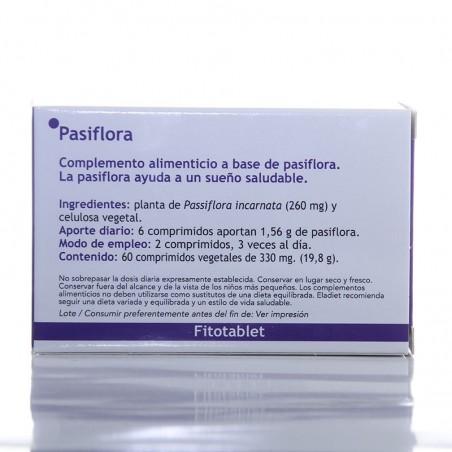 Pasiflora Fitotablet • Eladiet • 60 comprimidos