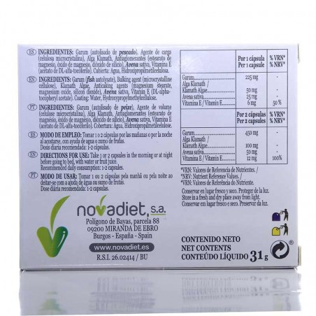 Vitalestres • Nova Diet • 60 cápsulas