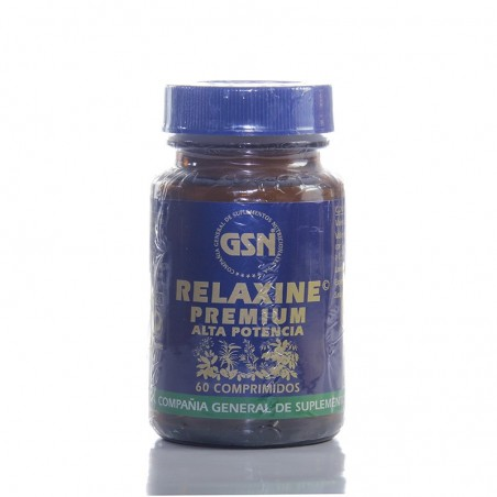 Relaxine premium alta potencia • GSN • 60 comprimidos