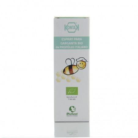 Spray para garganta bio de propóleo Kontak • Biolasi • 20 ml.
