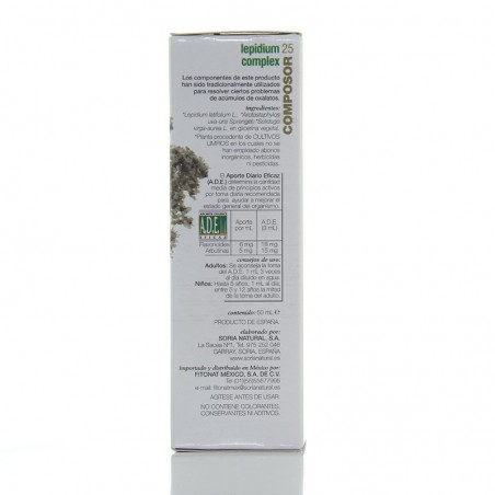 Composor 25 • Soria Natural • 50 ml.