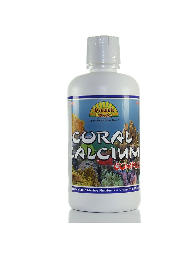 Coral calcium complex • Dynamic Health • 946 ml.