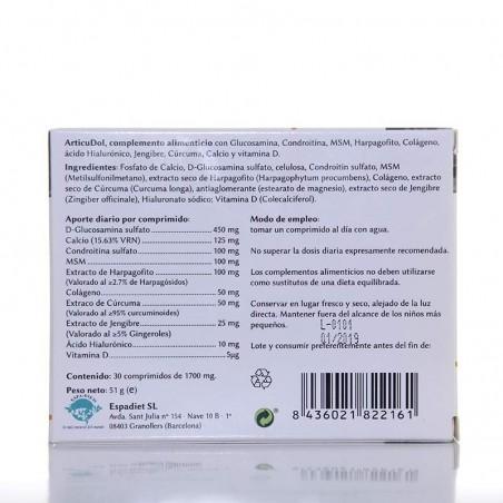 ArticuDol • MontStar • 30 comprimidos