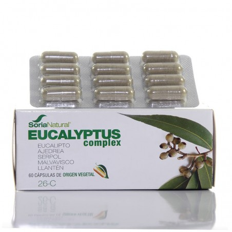 Eucalyptus complex • Soria Natural • 60 cápsulas