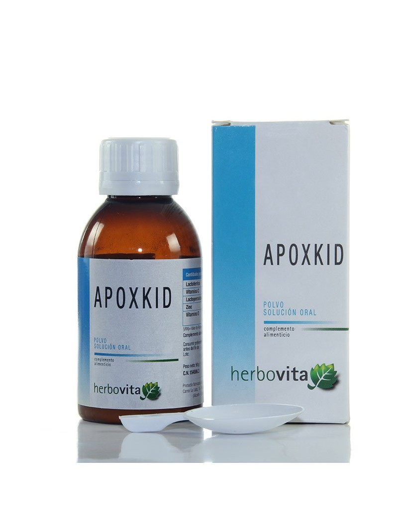 Apoxkid polvo solución oral • Herbovita • 50 gr.