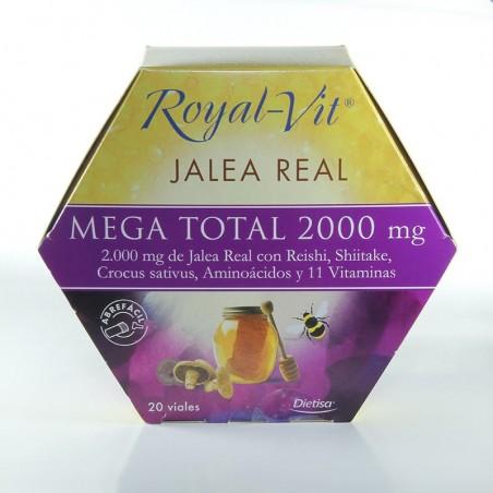 Jalea Real Mega Total 2000 • Dietisa • 20 viales