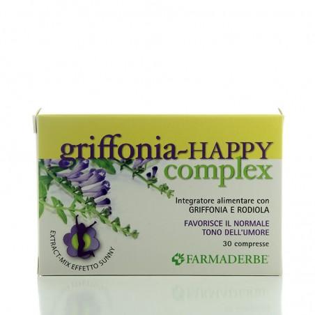 Griffonia Happy complex • Farmaderbe • 30 comprimidos