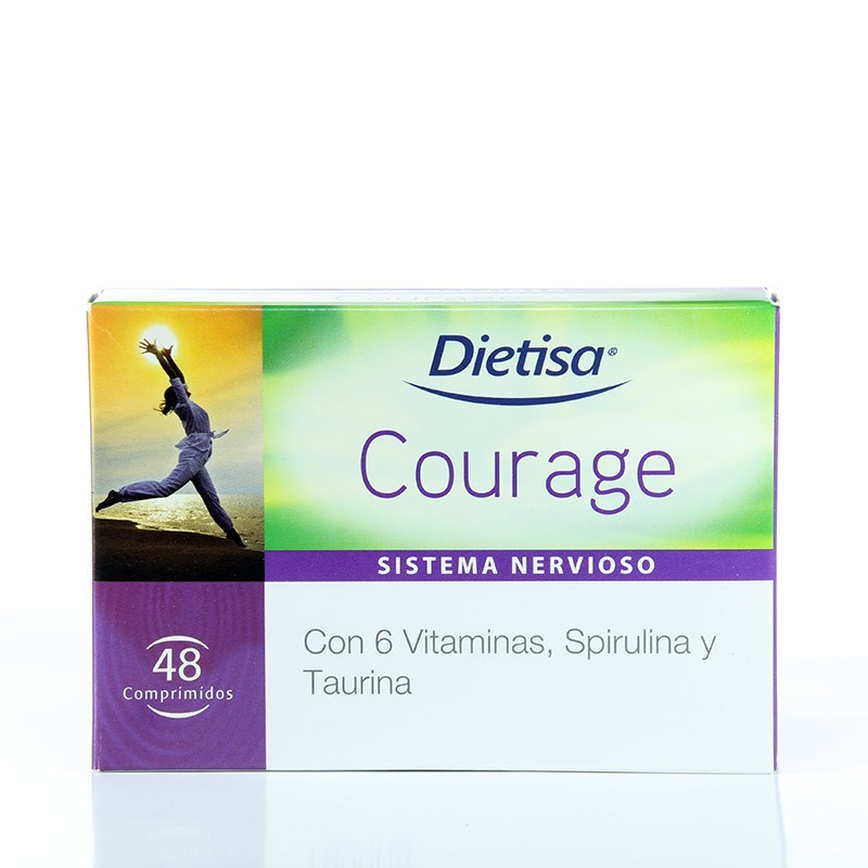 Courage • Dietisa • 48 comprimidos
