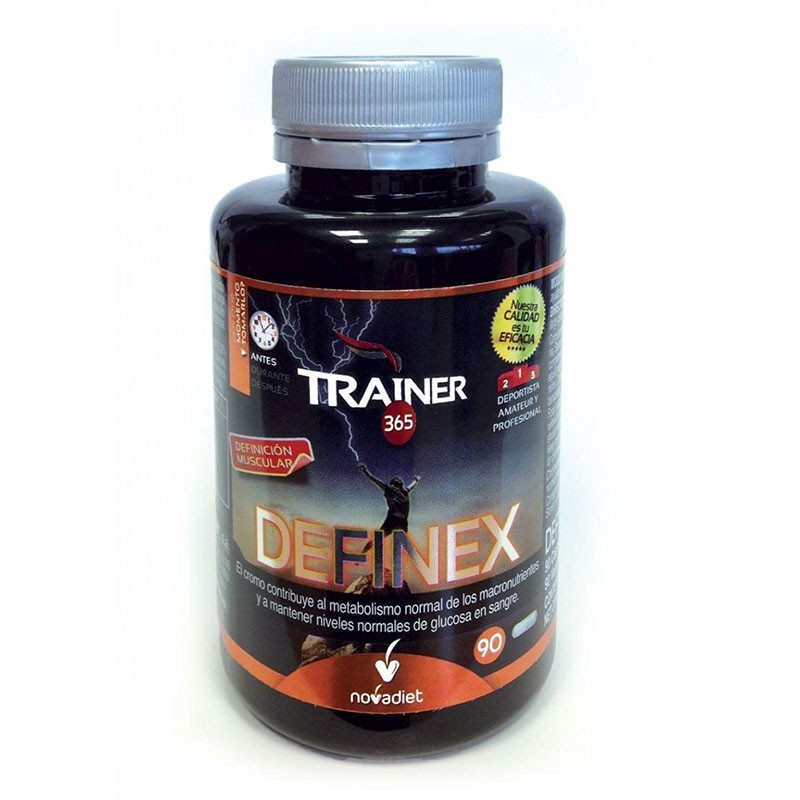 Trainer DEFINEX • Novadiet • 90 cápsulas