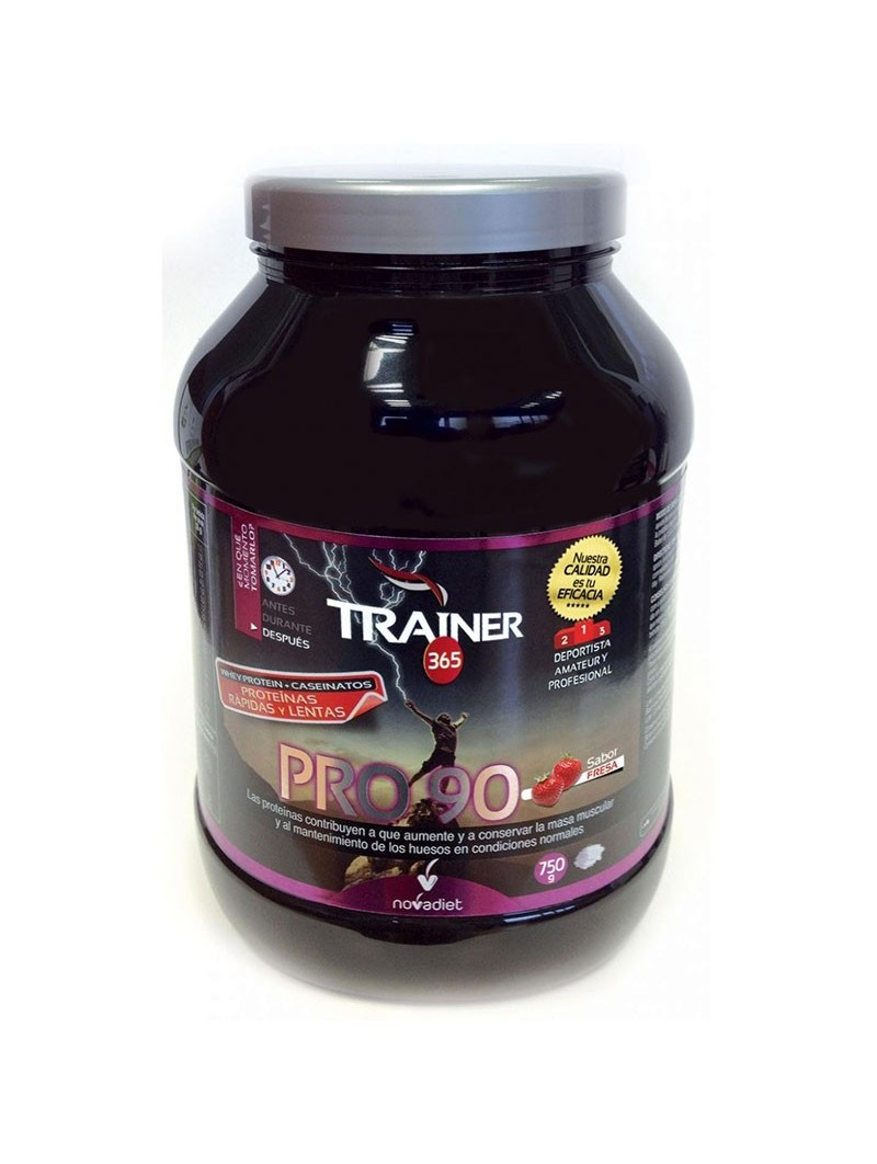 Trainer PRO 90 chocolate •  Novadiet • 750 gr.