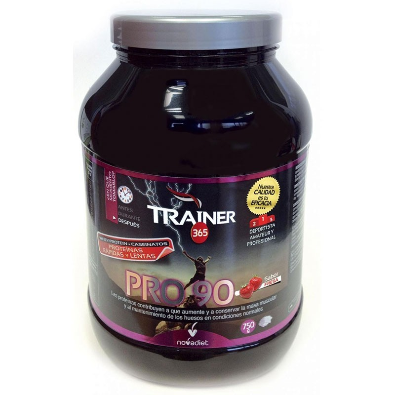 Trainer PRO 90 chocolate • Novadiet • 750 gr.