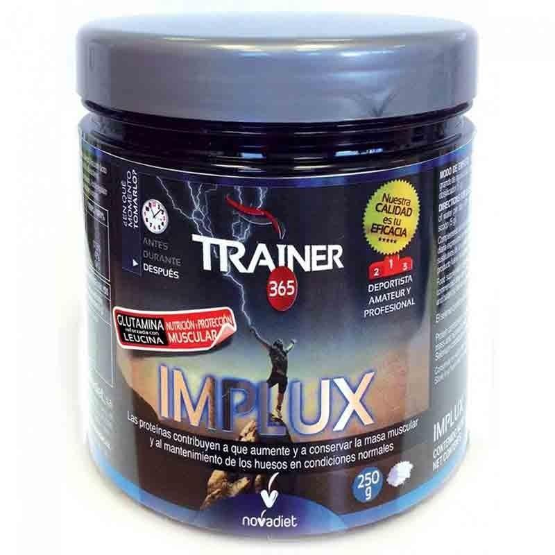 Trainer IMPLUX L-Glutamina • Novadiet • 250 gr.