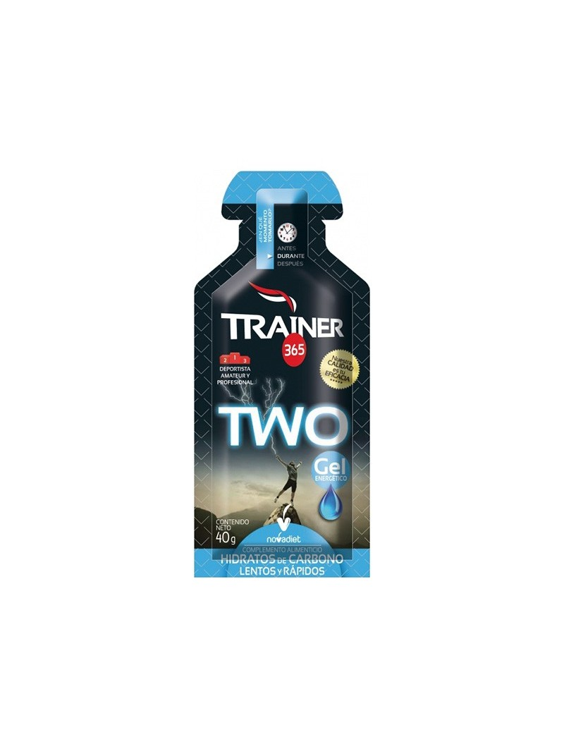 Trainer Two hidratos de carbono • Novadiet • 40 gr.