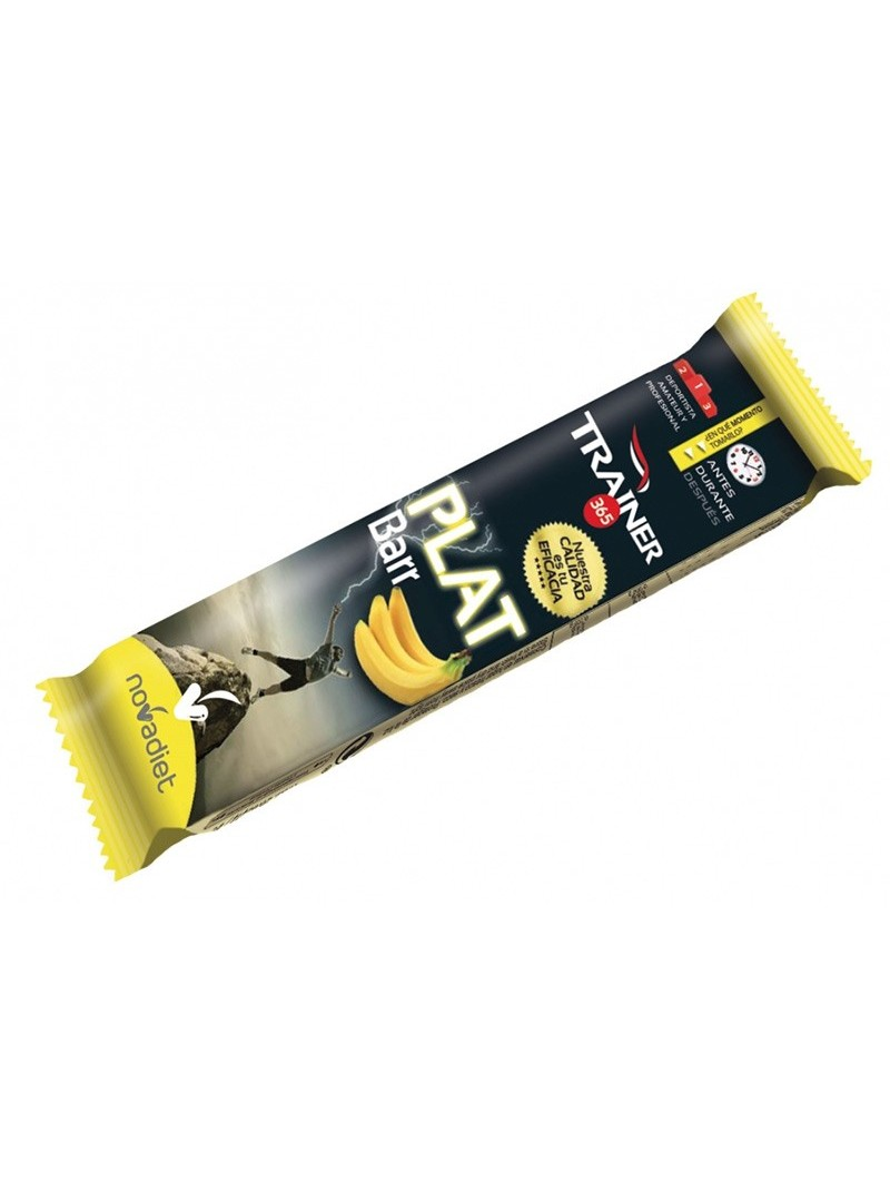 Barrita Trainer Plátano • Novadiet • 35 gr.