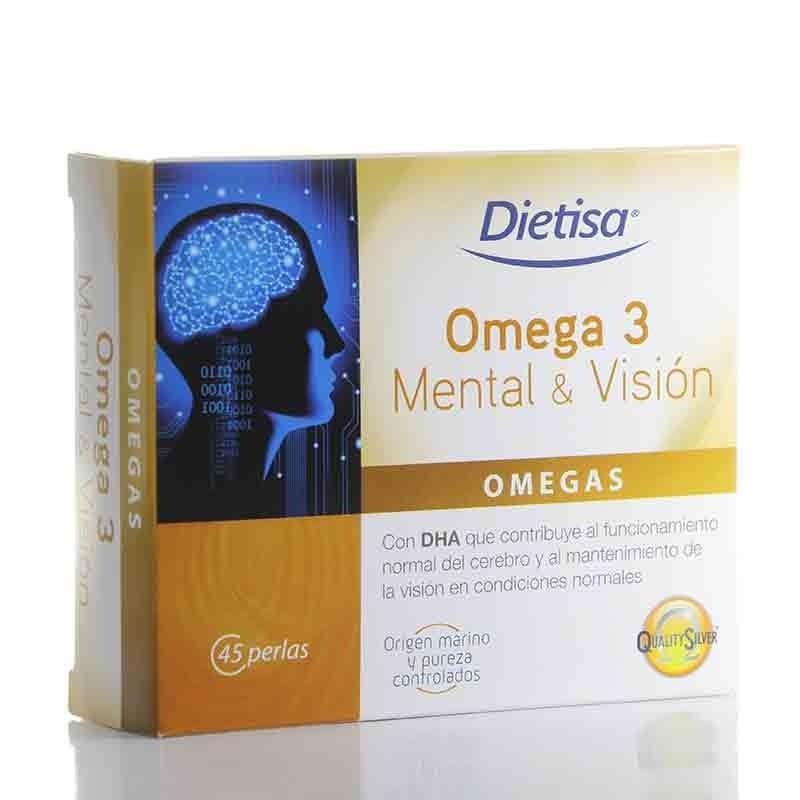 Omega 3 Mental & Visión • Dietisa • 45 Perlas