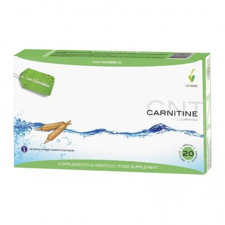 Carnitine L-Carnitina • Novadiet • 20 ampollas