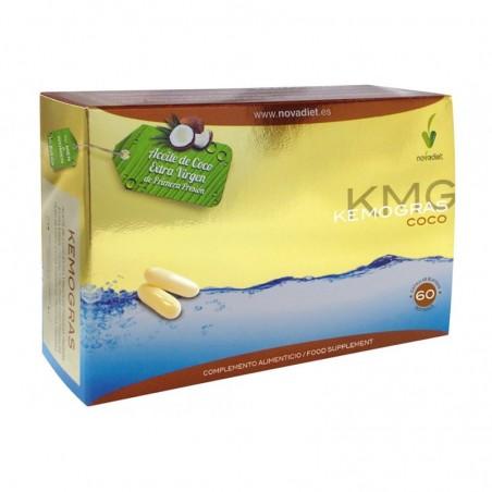 Kemogras Aceite de Coco • Novadiet • 60 cápsulas