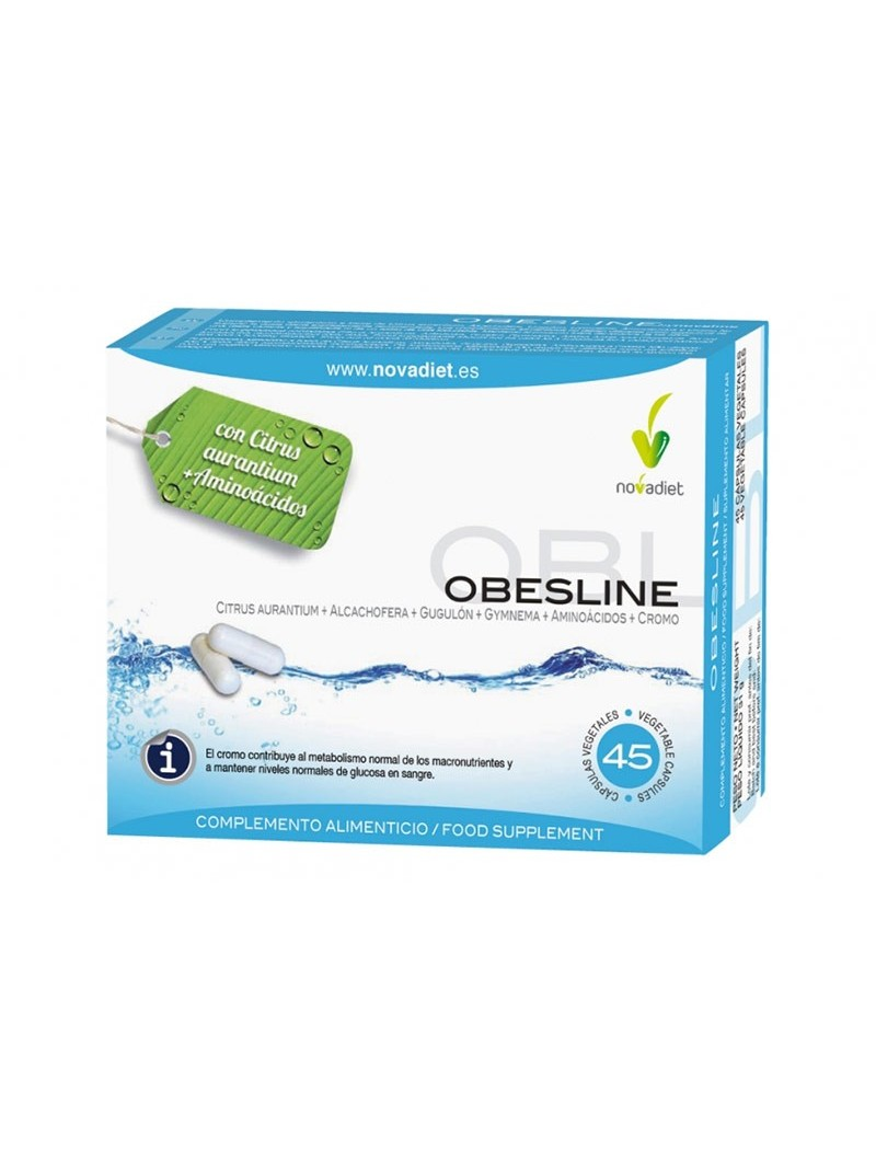 Obesline L-Carnitina • Novadiet • 45 cápsulas