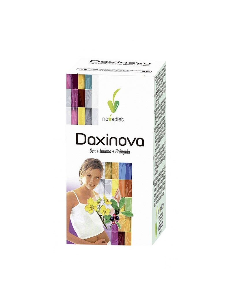 Daxinova Sen + Inulina + Frángula • Novadiet • 60 comprimidos