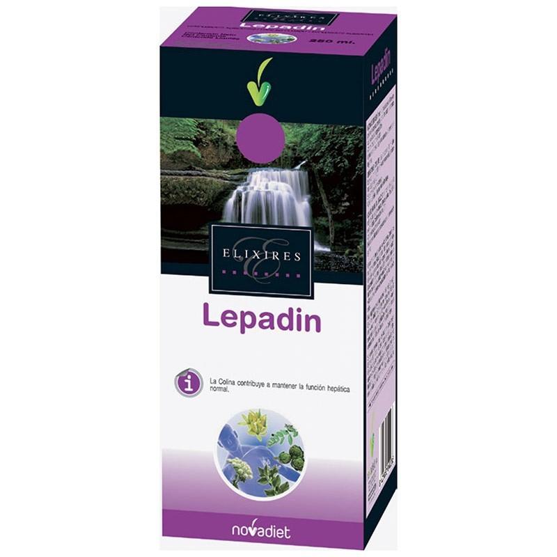 Lepadin Alcachofera y Cardo Mariano • Novadiet • 250 ml