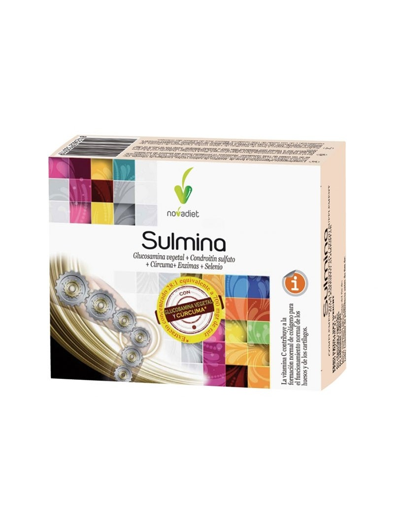 Sulmina • Novadiet • 60 cápsulas