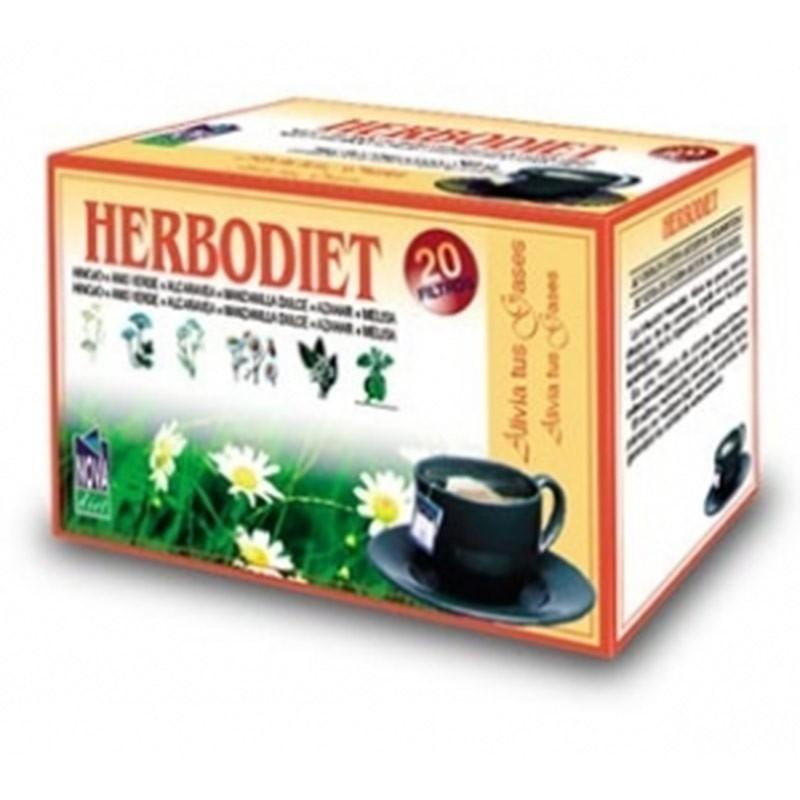 Herbodiet Alivia tus gases • Novadiet • 20 bolsitas