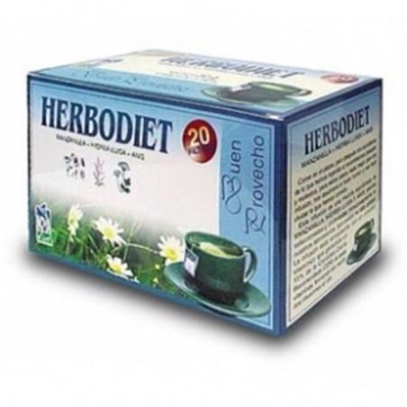 Herbodiet Buen Provecho • Novadiet • 20 bolsitas