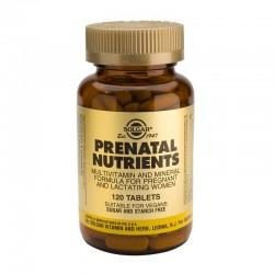 Nutrientes Prenatales Solgar 120 comprimidos