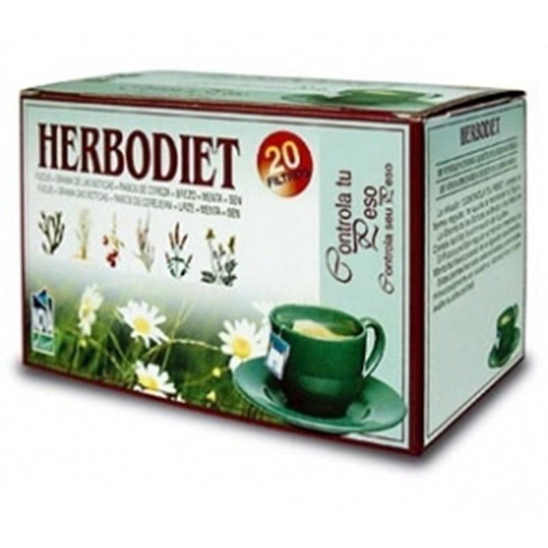 Herbodiet Controla Tu Peso • Novadiet • 20 bolsitas