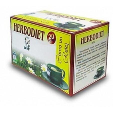 Herbodiet Como un Reloj • Novadiet • 20 bolsitas