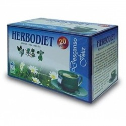 Herbodiet Descanso Feliz • Novadiet • 20 bolsitas
