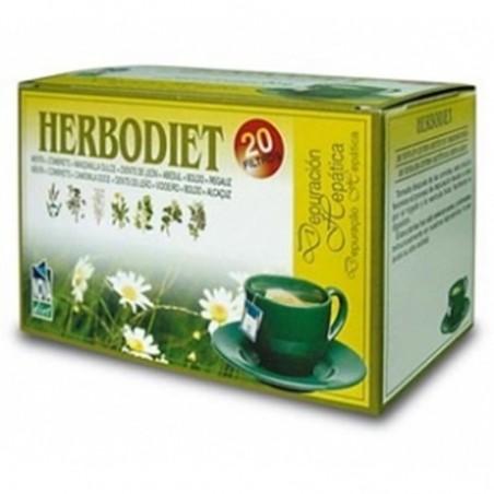 Herbodiet Depuración Hepática • Novadiet • 20 bolsitas