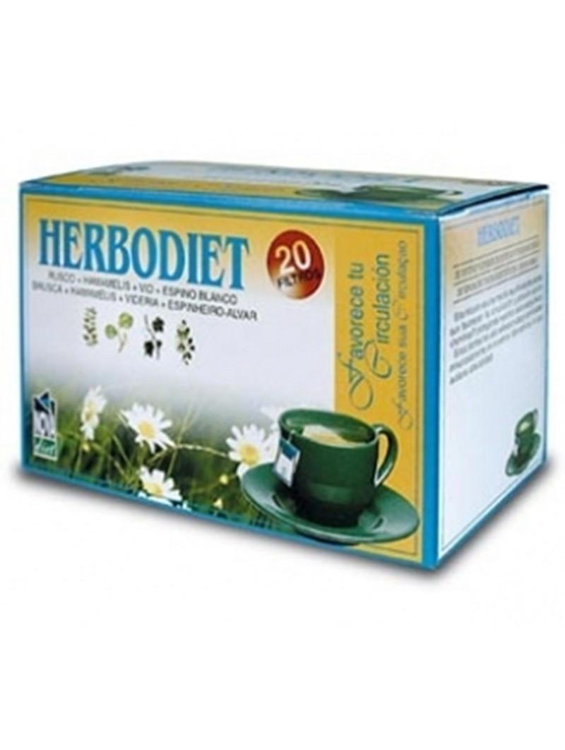 Herbodiet Favorece tu Circulación • Novadiet • 20 bolsitas