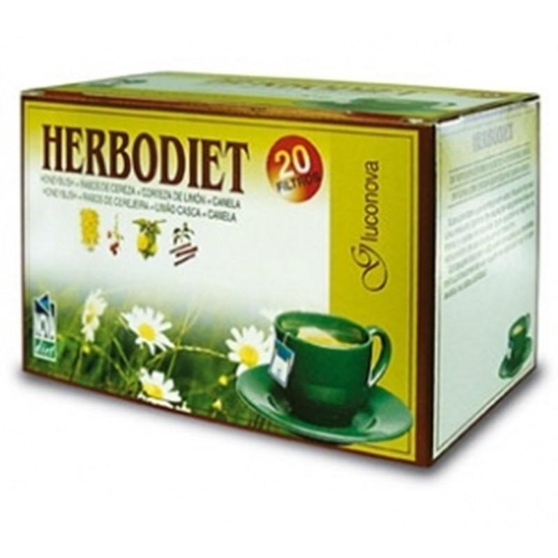 Herbodiet Gluconova • Novadiet • 20 bolsitas