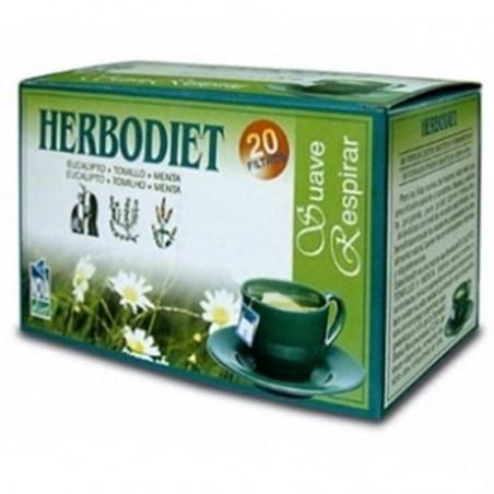 Herbodiet Suave Respirar • Novadiet • 20 bolsitas