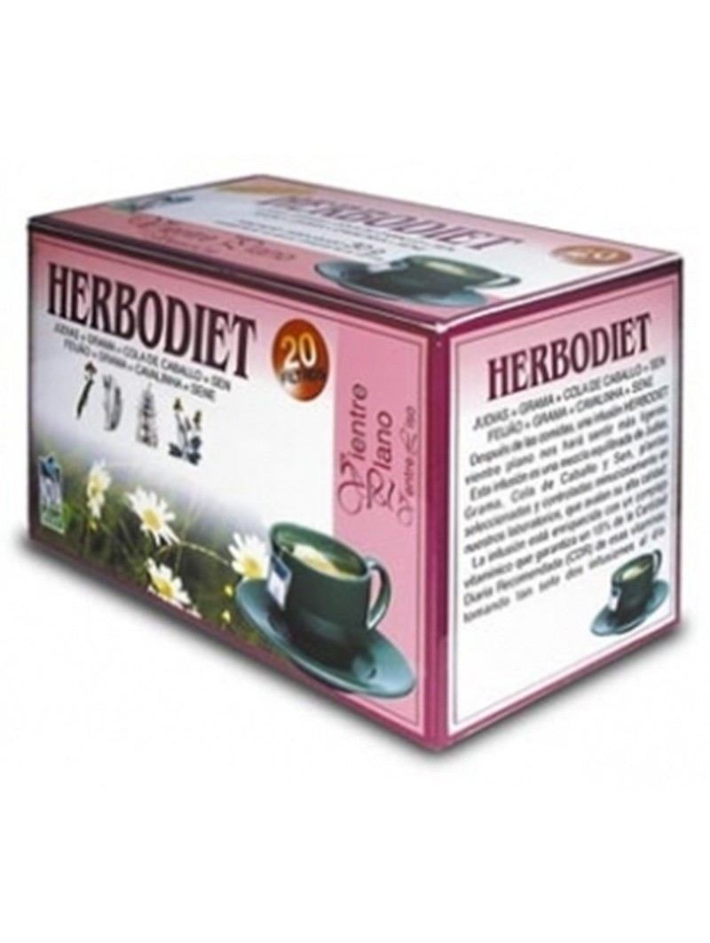 Herbodiet Vientre Plano • Novadiet • 20 bolsitas