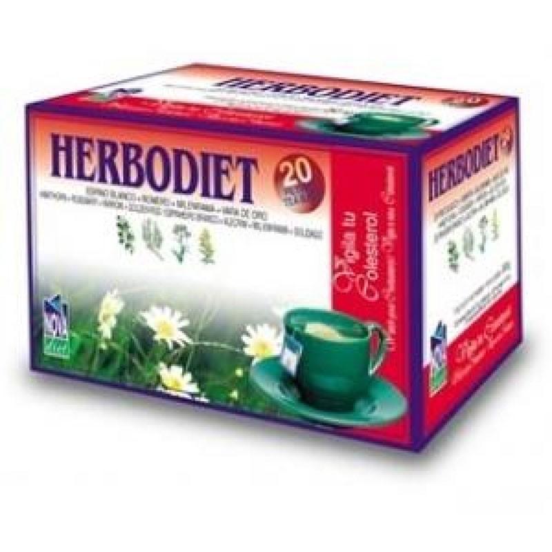 Herbodiet Vigila tu Colesterol • Novadiet • 20 bolsitas