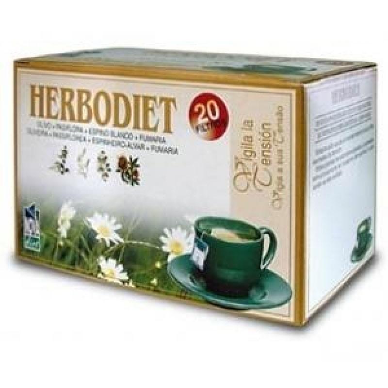 Herbodiet Vigila la Tensión • Novadiet • 20 bolsitas