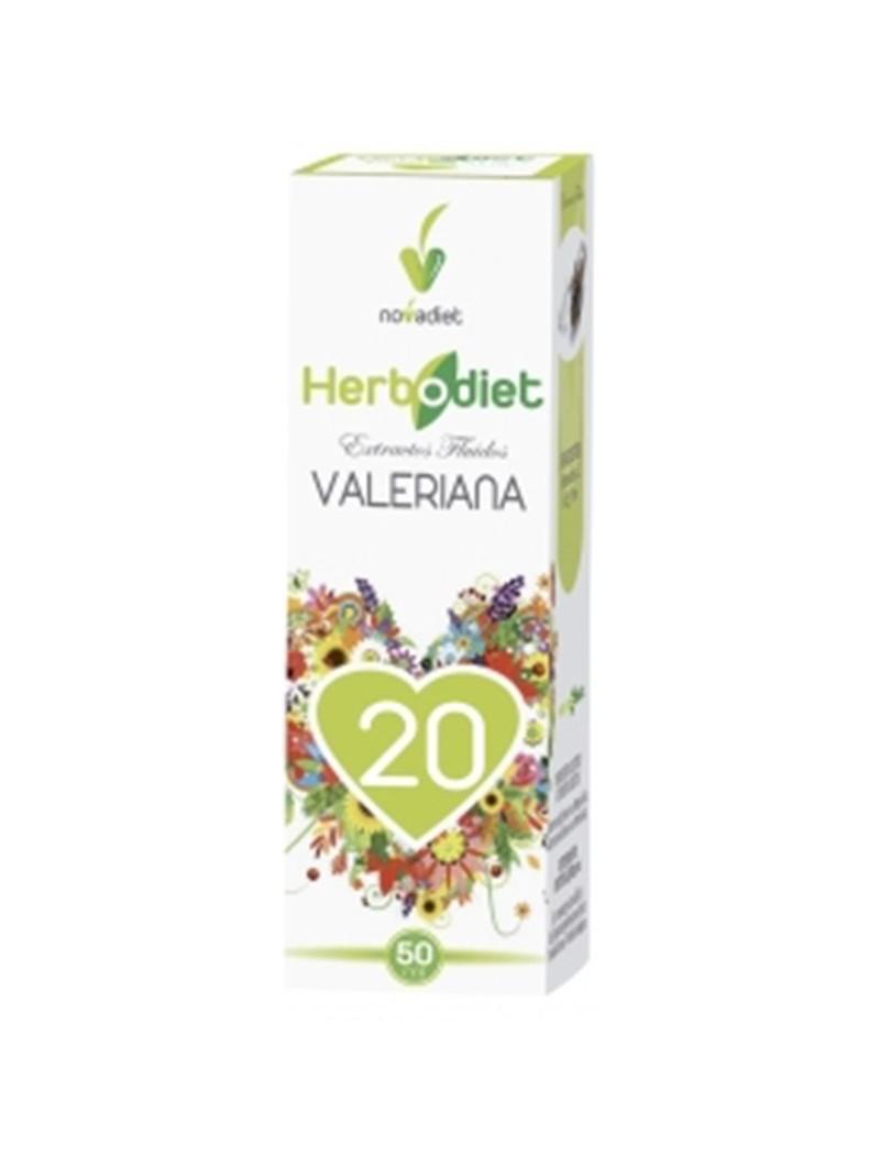 Herbodiet Extracto Fluido Valeriana • Novadiet • 50 ml