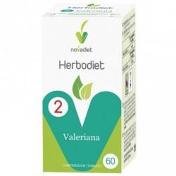 Herbodiet Valeriana • Novadiet • 60 comprimidos