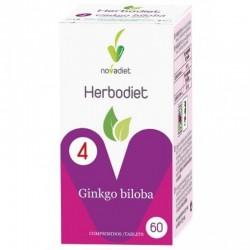 Herbodiet Ginkgo Biloba • Novadiet • 60 comprimidos