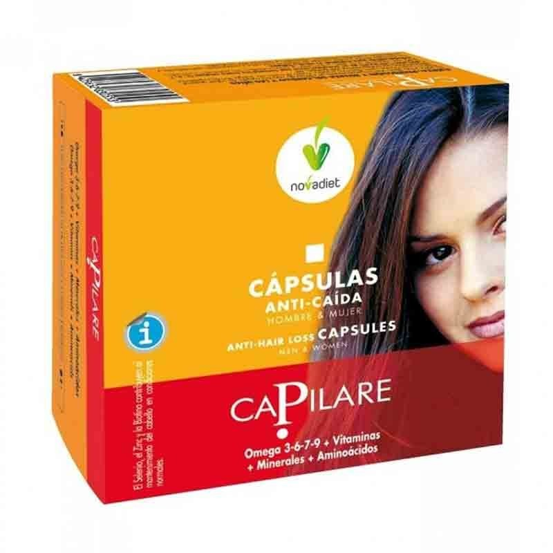 Capilare anticaída capilar • Novadiet • 60 cápsulas