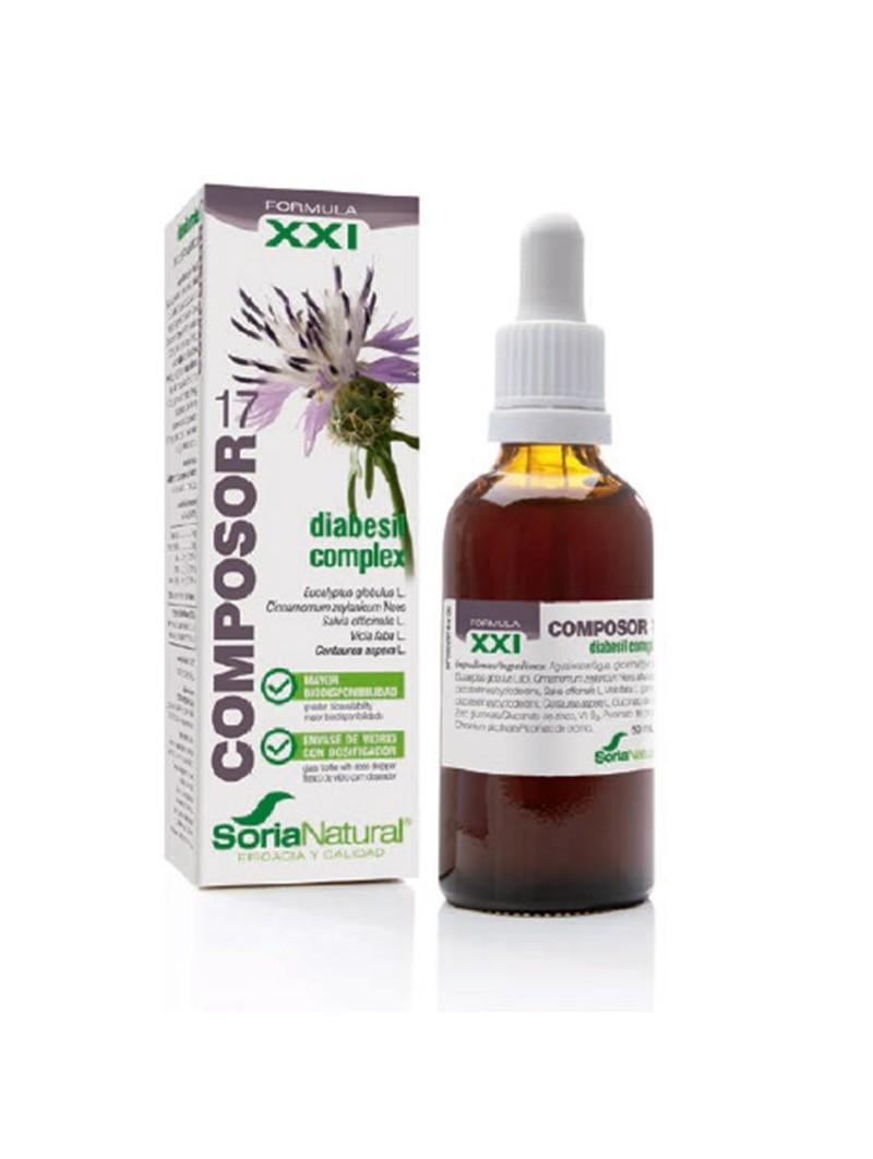 COMPOSOR 6 - ELEUTHERO COMPLEX • Soria Natural • 50 ml