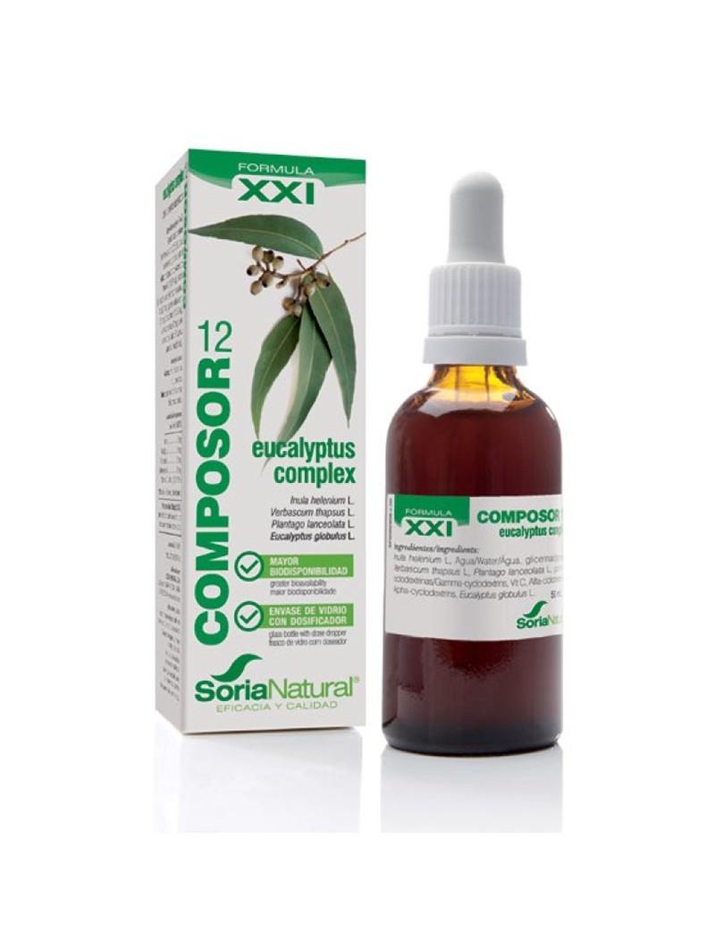 COMPOSOR 12 EUCALYPTUS COMPLEX  XXI • Soria Natural • 50 ml