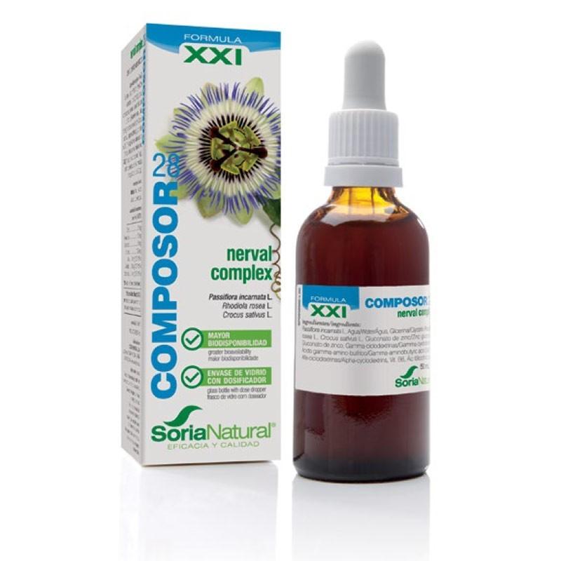 COMPOSOR 28 NERVAL COMPLEX XXI • Soria Natural • 50 ml